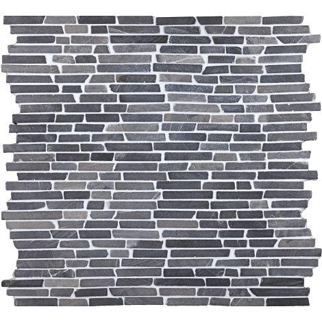30x30 Marmormosaiik Stick Grey