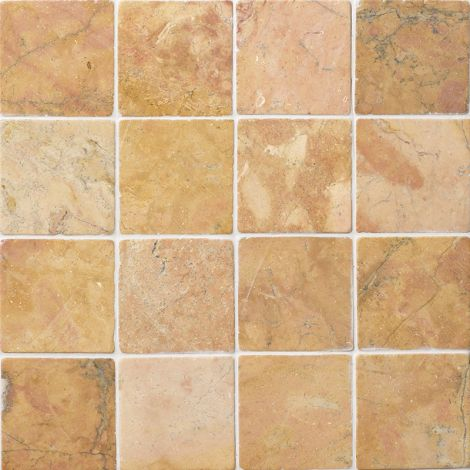 10x10 Marmormosaiik Square Terra