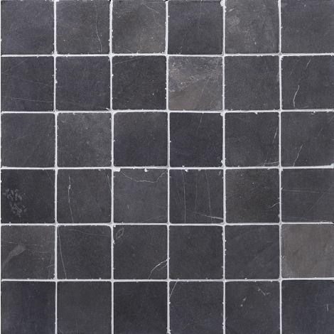 10x10 Marmormosaiik Square Grey
