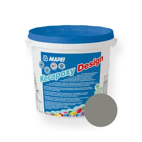 Vuugisegu Kerapoxy Design Cement Grey 113 3kg