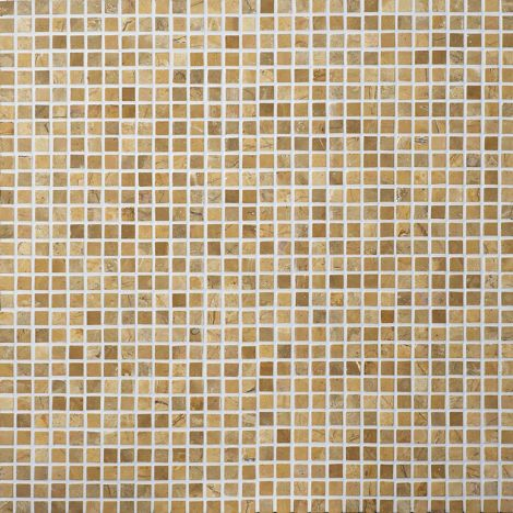 2x2 Marmormosaiik Square Mustard