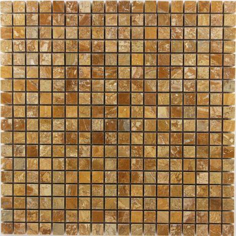 1,5x1,5x1,0 Poleeritud marmormosaiik Travertino Pol.