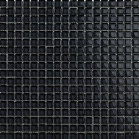 1,5x15 Klaasmosaiik Crystal Super Black