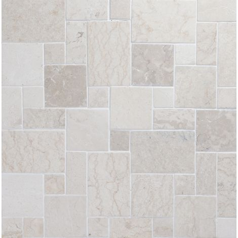 30x30 Marmormosaiik French patern White