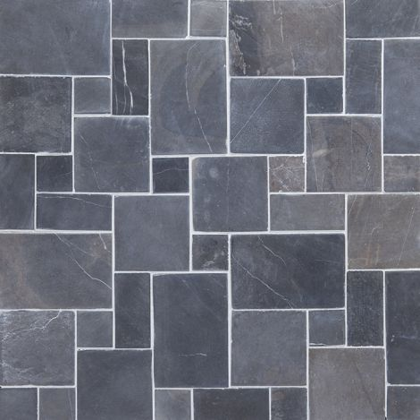 30x30 Marmormosaiik French pattern Grey