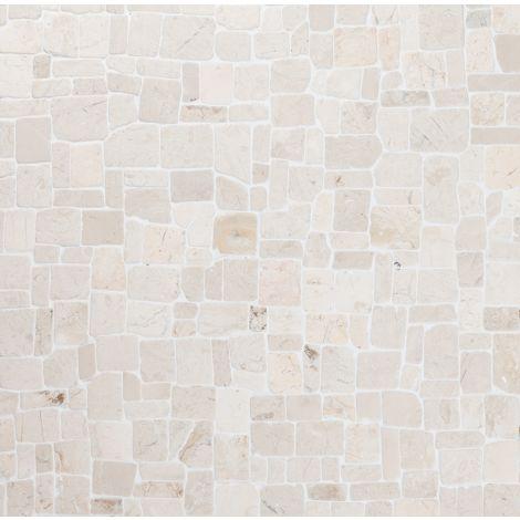 30x30 Marmormosaiik Roman White