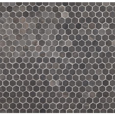 Hexagon Mini 30x30mm Grey