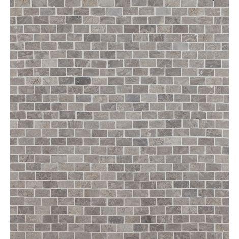 2x4 Marmormosaiik Brick Mini Light Grey