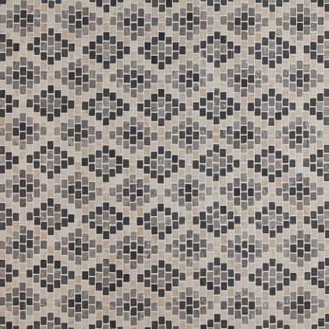 2x2 Marmormosaiik Diamond Pattern Monochrome
