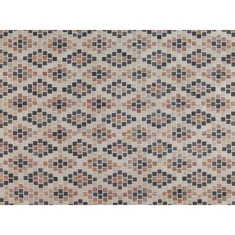2x2 Marmormosaiik Diamond Pattern Coloured