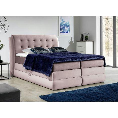 Kontinentaalvoodi Arte 180x200 cm roosa kangas