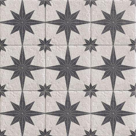 20x20 Keraamiline seina- ja põrandaplaat Compass White