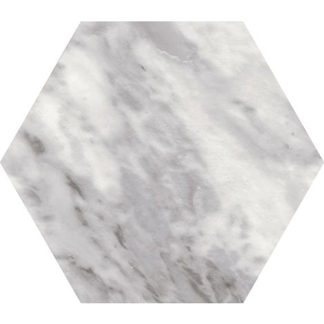 17,5x20 Bardiglio Hexagon Dark