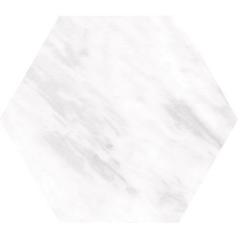17,5x20 Bardiglio Hexagon Light