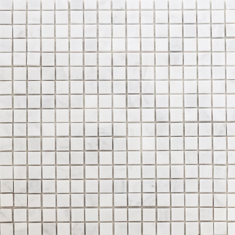 1,5x1,5  Marmormosaiik Bianco Carrara Pol.