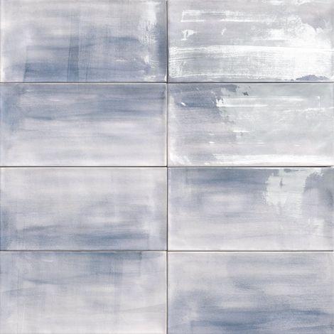 15x30 Keraamiline plaat AQUAREL BLUE