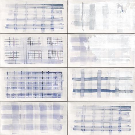 15x30 Keraamiline plaat AQUAREL DECOR BLUE