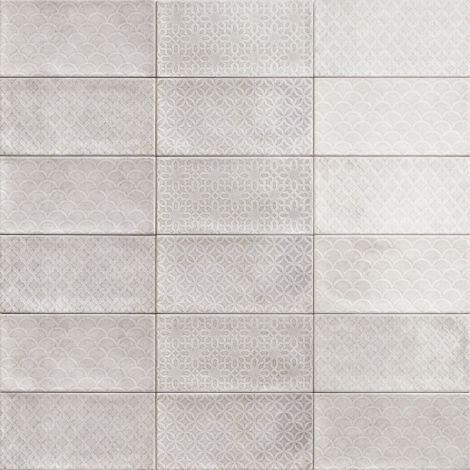 10x20 Keraamiline plaat CAMDEN DECOR GREY