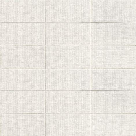 10x20 Keraamiline plaat FABRIC WHITE