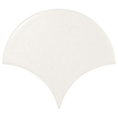 10,6x12 Scale Fan White Mate