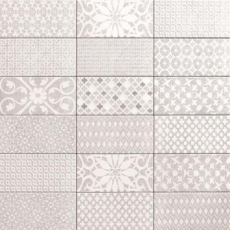 10x20 Keraamiline plaat TEBAS GREY MENFIS
