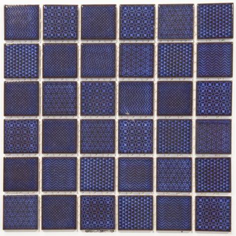 4,7x4,7 Keraamiline mosaiik Celadon Royal