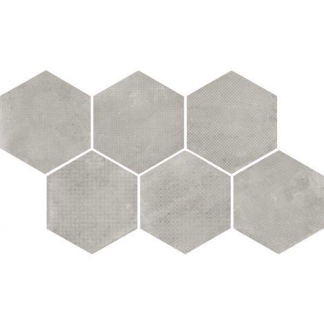 29,2x25,4 Urban Forest Melange Silver
